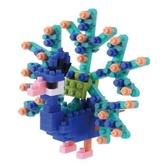 【日本 Kawada 河田】Nanoblock 迷你積木 孔雀 NBC-142