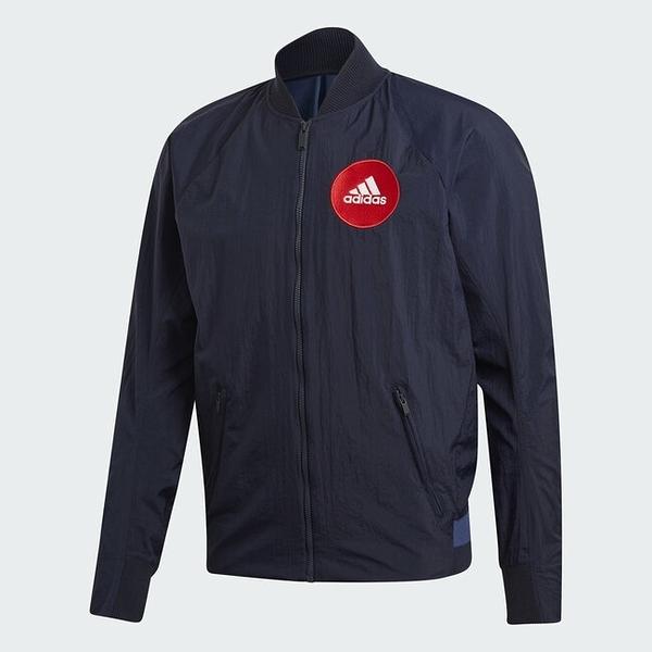 【一月大促折後$3180】Adidas Vrct Tokyo 海軍藍 深藍 城市 東京 山形圖 外套 FI4030