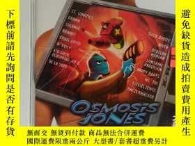 二手書博民逛書店原版音樂歌曲CD光盤OSMOSiS罕見JOMESY247232