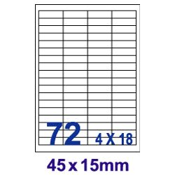 [奇奇文具]Unistar UW4515白72格100入三用標籤