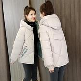 棉服 小棉襖冬裝2021年新款女短款羽絨棉衣棉服韓版寬鬆面包服冬季外套【快速出貨八折搶購】