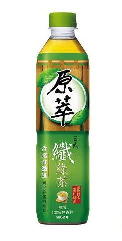 ●原萃日式纖綠茶580ml*4入【合迷雅好物超級商城】