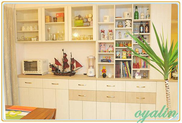 【歐雅系統家具】多功能廚具 餐邊電器櫃