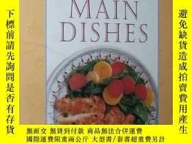 二手書博民逛書店◇英文原版書罕見Healthy Main Dishes 西餐健康