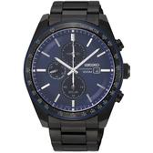 【分期0利率】SEIKO 精工錶 三眼計時錶 V176-0AZ0A 藍寶石水晶鏡面 44mm 公司貨 SSC731P1