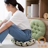 圓形坐墊布藝坐墊榻榻米飄窗沙發靠墊圓凳墊子椅子坐墊【宅貓醬】