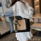 手提包 手提單肩大包包新款潮大學生上課包洋氣大容量時尚女包托特包 【618特惠】