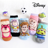 迪士尼玩具總動員系列直版親子襪 迪士尼 襪子 童襪 短襪