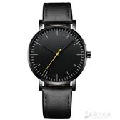 男士手錶 男士手錶防水時尚款男生韓國學生簡約潮流休閒皮帶石英錶 【快速出貨】