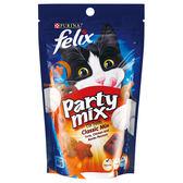 【寵物王國】Felix日本菲力貓 貓脆餅-海陸三重奏風味(鮪魚,雞肉,鰹魚)60g