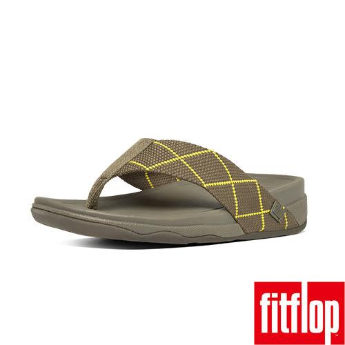 FitFlop TM _SURFER DYNO TM-橄欖/蘋果綠