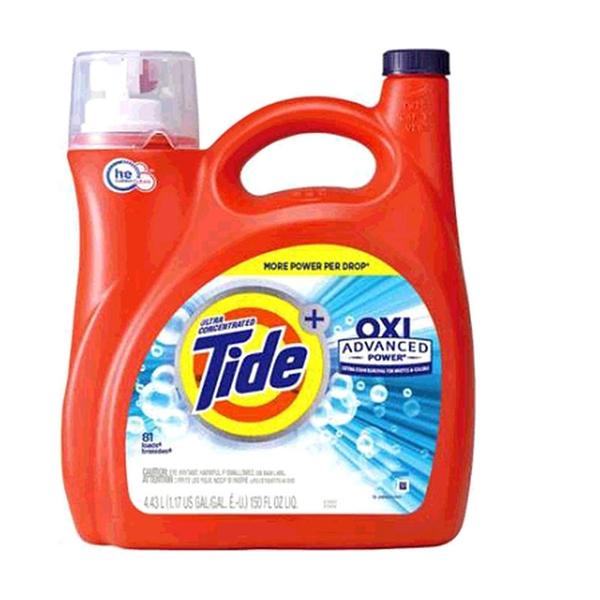 [COSCO代購] W2160440 Tide 汰漬 OXI亮白護色洗衣精 4.43公升 两組入