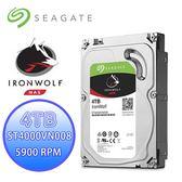 Seagate 西捷 IronWolf 那嘶狼 4TB 3.5吋 NAS硬碟 (ST4000VN008)