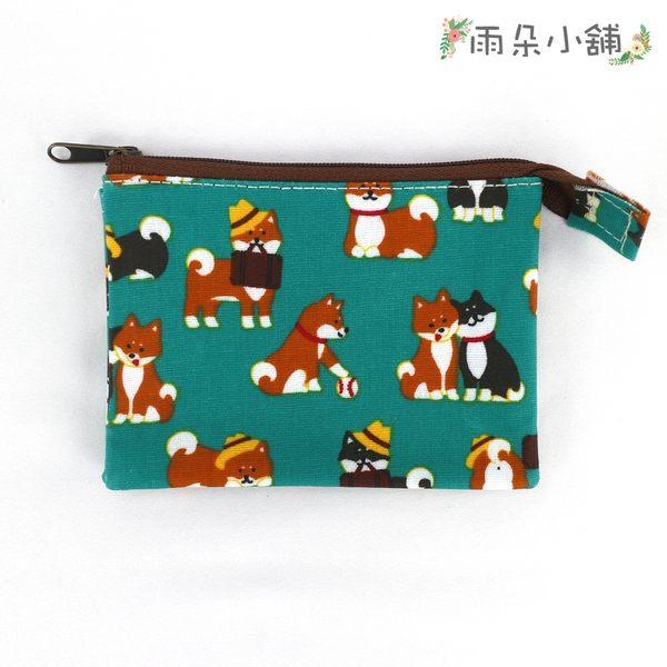 零錢包 包包 防水包 雨朵小舖雨朵防水包 M055-733 單拉鍊內雙層零錢包-綠公事包柴犬08124 funbaobao