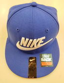 NIKE 帽子/ 板帽-藍色