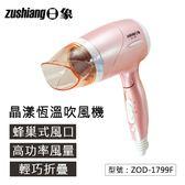 【尋寶趣】晶漾恆溫吹風機 1000W 高風量 集風吹嘴 掛勾設計 適用造型沙龍/家庭美髮 ZOD-1799F