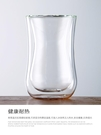 雙層玻璃杯創意歐式透明防燙泡茶水杯冰咖啡杯果汁牛奶杯隔熱杯子 傑森型男館