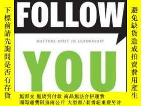 二手書博民逛書店People罕見Follow You: The Real Secret to What Matters Most