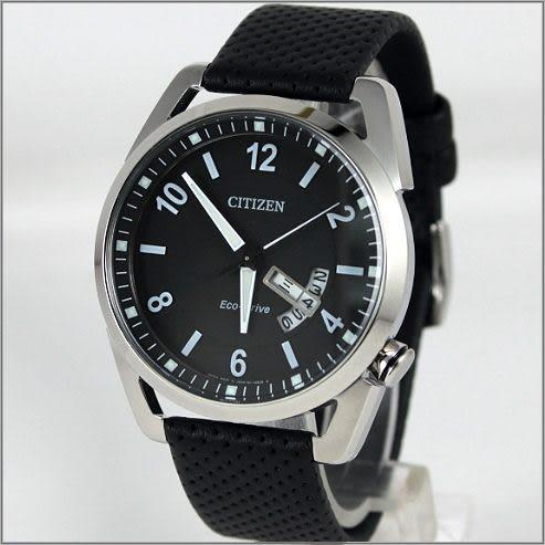 【萬年鐘錶】CITIZEN 光動能 時尚皮錶 AW0010-01E