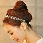 [全館5折] 韓版 飾品 髮飾 頭飾 時尚 優雅 鏤空 玫瑰花 髮帶 精品 髮箍