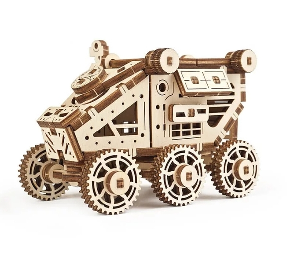 Ugears 火星小車車 太空征服者 太空偵查車 DIY木質模型