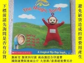 二手書博民逛書店The罕見Magic Song (Teletubbies)英文原