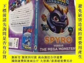 二手書博民逛書店Spyro罕見Versus The Mega Monsters:史派洛對超級怪物Y200392