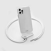 【南紡購物中心】CRYSTAL-X系列 繩索背帶手機殼-透明 LAUT iPhone 12 series