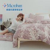 #L-MAB04#國際級美國知名抗菌技術5x6.2尺雙人薄床包舖棉兩用被套四件組[SN]鋪棉/台灣製