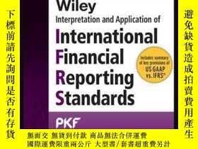 二手書博民逛書店Wiley罕見IFRS 2016: Interpretation and Application of Inter