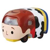 【五折】TSUMTSUM 限量日空版 TOMICA 疊疊車 多美小車車 玩具總動員 胡迪 該該貝比日本精品