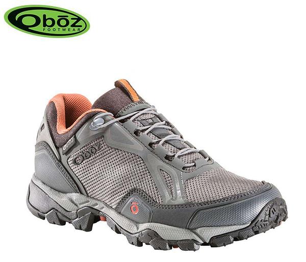 丹大戶外【Oboz】美國 Crest Low BDry 男款 防水戶外低筒登山鞋 OB41101 GRAP 石墨色