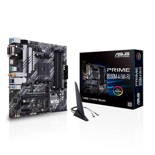 華碩 ASUS PRIME B550M-A (WI-FI) AMD 主機板