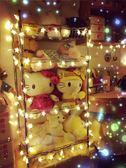LED星星小彩燈閃燈串燈滿天星房間布置裝飾網紅燈臥室浪漫少女心 英雄聯盟