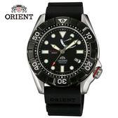 ORIENT東方錶 M-FORCE FOR AIR DIVING系列潛水機械錶 橡膠錶帶款 SEL03004B 黑色 - 46mm