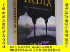 二手書博民逛書店英文原版罕見India: The Definitive Hist