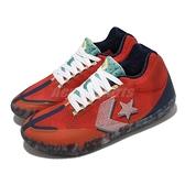 Converse 籃球鞋 All Star BB Evo Court Daze 紅 深藍 男鞋 低筒 【ACS】 170761C