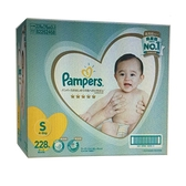 促銷到6月22日 PAMPERS DIAPER幫寶適一級幫S號4-8公斤228片 日本境內版 _C156693