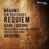 【停看聽音響唱片】【CD】丹尼爾.哈丁 / 布拉姆斯:德意志安魂曲 瑞典廣播交響樂團