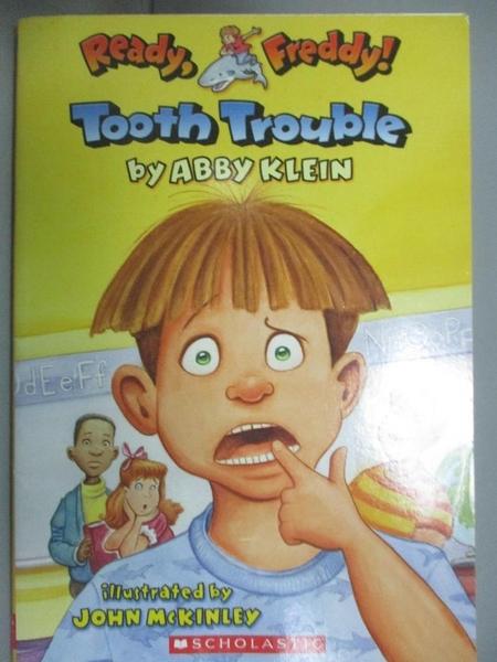 【書寶二手書T2/原文小說_KIB】Tooth Trouble_Klein, Abby/ McKinley, John