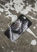 高冷男女款HTC728手機殼暗黑迷幻雕塑石膏iPhone6s 7半包光面硬殼  檸檬衣舍