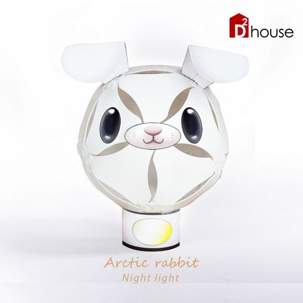 擁瓣燈飾-北極兔【DD House】