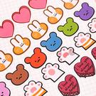 【BlueCat】愛心蛋糕小兔小熊貓掌標...
