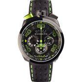 BOMBERG 炸彈錶 BOLT-68 石英計時碼錶-綠時標/45mm BS45CHPBA.013.3