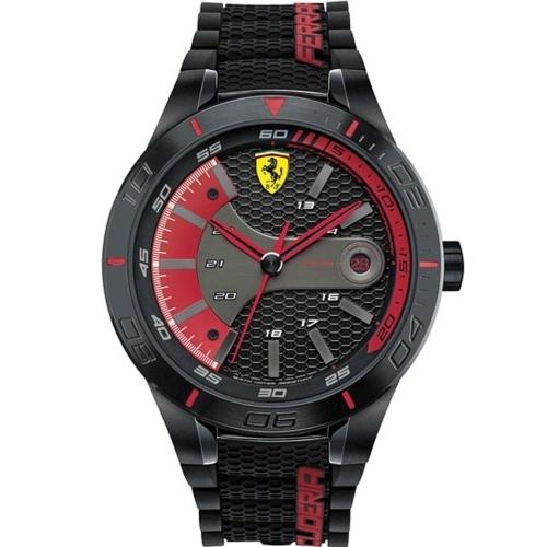 FERRARI Pit Crew速度感時尚腕錶/0830265