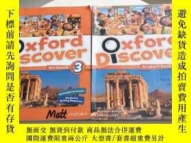 二手書博民逛書店Oxford罕見Discover 3 student book+