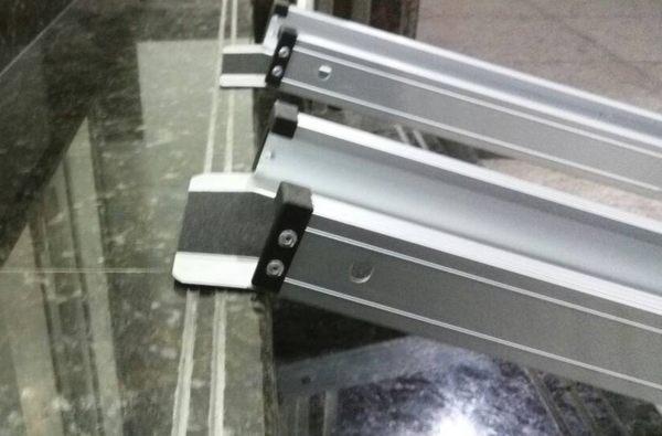 斜坡板/鋁輪椅梯-輪椅--電動輪椅爬梯專用斜坡板150CM  (台灣製造)