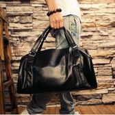 真皮旅行包男士手提包大容量商務旅行健身包行李袋牛皮單肩斜跨包 艾尚旗艦店