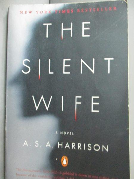 【書寶二手書T4/原文小說_LCP】The Silent Wife_Harrison, A. S. A.