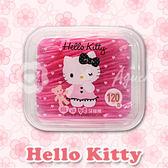 Hello Kitty 凱蒂貓扁線牙線棒 120支(盒裝) 最佳使用期限 2017/11/19